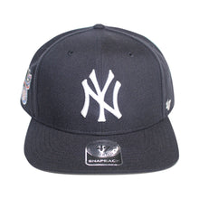 Load image into Gallery viewer, 47 Brand New York Yankees Sure Shot Navy Blue Snapback Cap