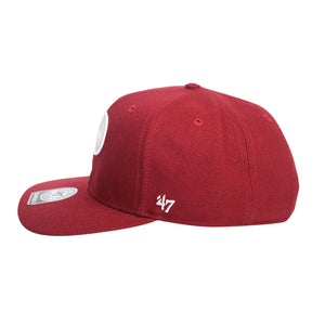 47 Brand Philadelphia Phillies Sure Shot 47 Captain Cardinal Cap