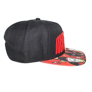 "Bioworld Licensed Deadpool ""Merc With A Mouth"" Sublimated Brim Snapback Hat"