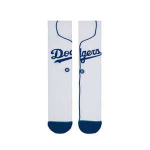 Stance Los Angeles Dodgers Home White Socks