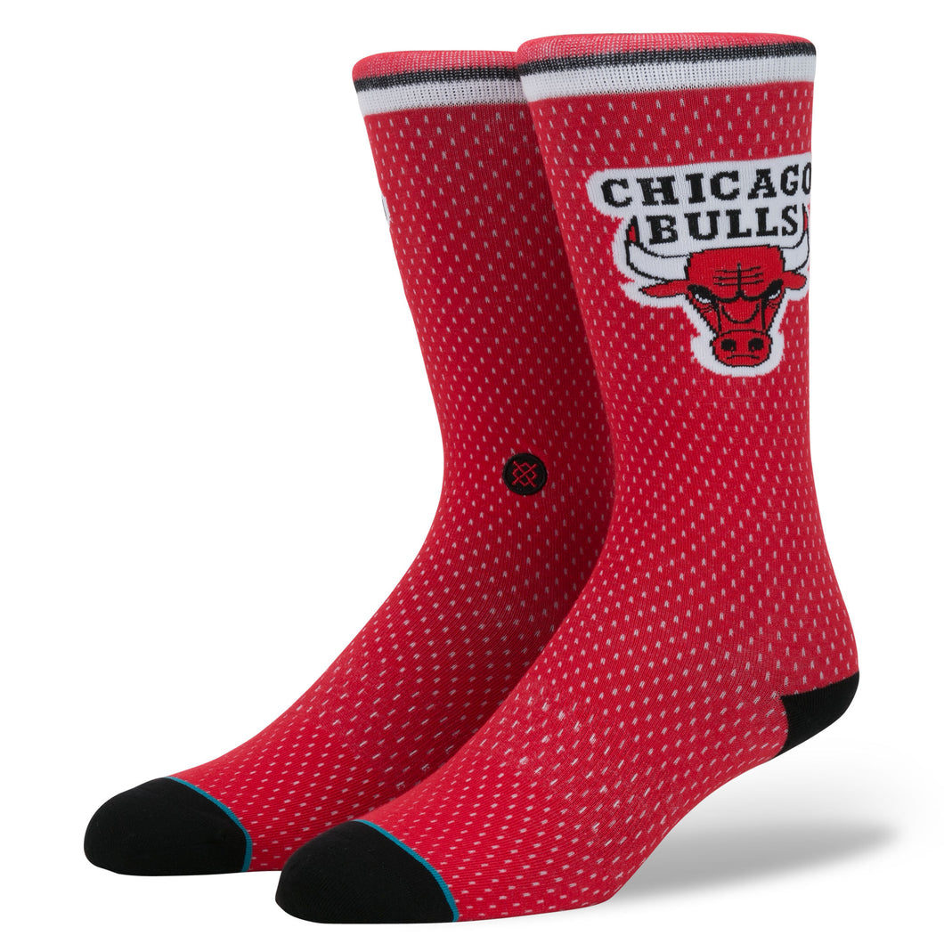 Stance Chicago Bulls Jersey Red Socks