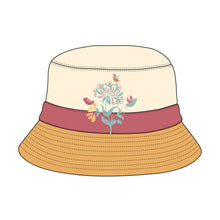 Load image into Gallery viewer, Bucket Hat Template - 10 Angles, Layered, Detailed and Editable Vector Mock Up Template