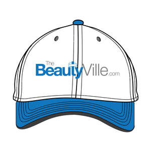 Curved Brim Baseball Cap Template - 8 Angles, Layered, Detailed and Editable Vector Mock Up Template