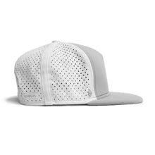 Load image into Gallery viewer, Melin Brand The Amphibian - Light Grey Snapback Hat
