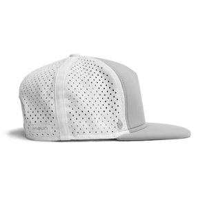 Melin Brand The Amphibian - Light Grey Snapback Hat