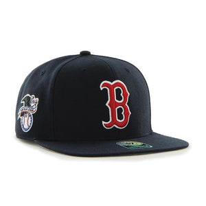 47 Brand Boston Red Sox Sure Shot 47 Captain Navy Blue Youth Cap