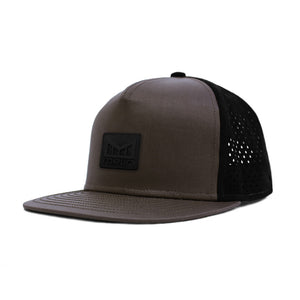 Melin Brand The Nomad Taupe Black Snapback Hat