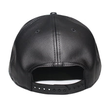 Load image into Gallery viewer, Origins - The Cap Guys TCG / Inspired Exclusives Black PU Leather Snapback Cap