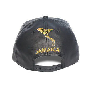 The Doctor Bird - Jamaica - The Cap Guys TCG / Inspired Exclusives Gold And Black Snapback Cap