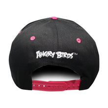 Load image into Gallery viewer, Concept One Black/Pink Licensed Angry Birds Sublimated Brim Snapback Hat