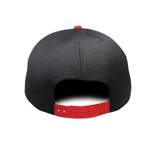 Origins - The Cap Guys TCG / Inspired Exclusives Black And Red Snapback Cap