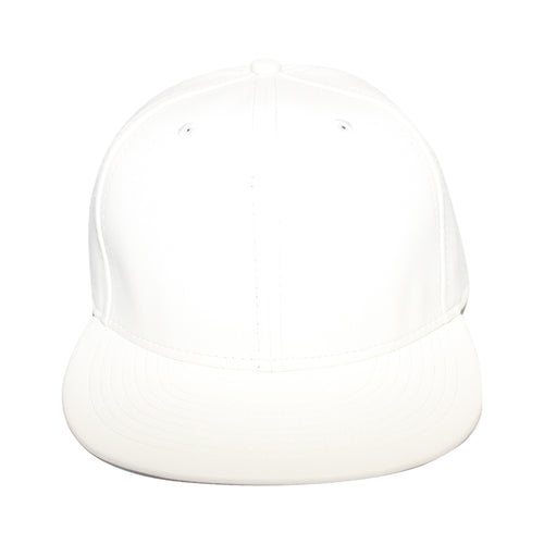 Origins - The Cap Guys TCG / Inspired Exclusives White PU Leather Snapback Cap