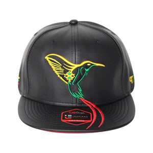 The Doctor Bird - Jamaica - The Cap Guys TCG / Inspired Exclusives Rasta Edition Strapback Cap