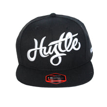 Load image into Gallery viewer, Hustle - T.O. - The Cap Guys TCG / Inspired Exclusives White and Black Snapback Cap