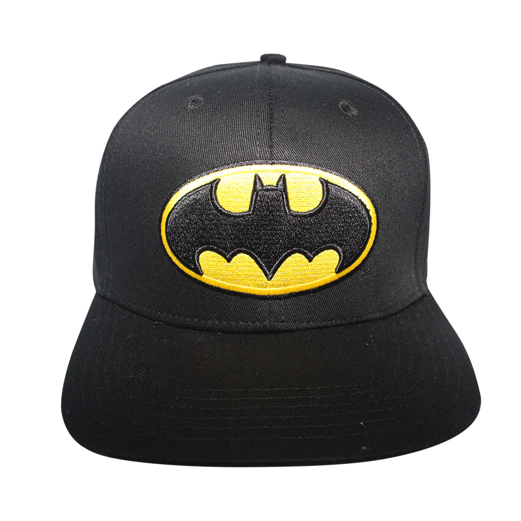 Concept One Black/Yellow Licensed Batman Classic Logo Snapback Hat