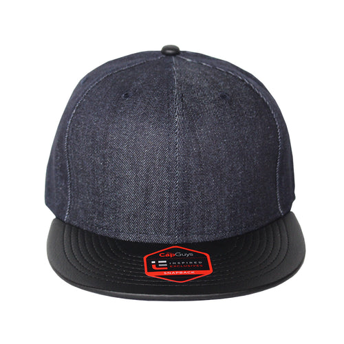 Origins - The Cap Guys TCG / Inspired Exclusives Denim PU Brim Snapback