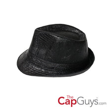 Load image into Gallery viewer, TCG Black Snakeskin Fedora 31