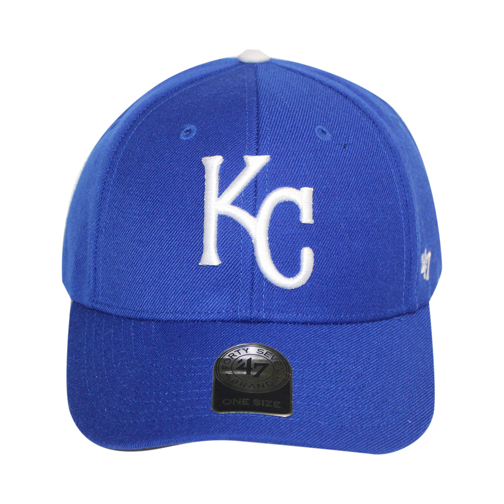47 Brand Blue Kansas City Royals Home 47 MVP Cap