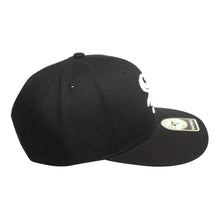 Load image into Gallery viewer, 47 Brand Black Chicago White Sox No Shot 47 Captain Youth Cap