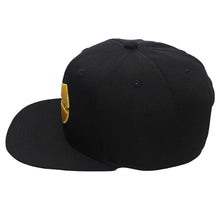 Load image into Gallery viewer, Wu-Tang Clan Black/Yellow Snapback Hat