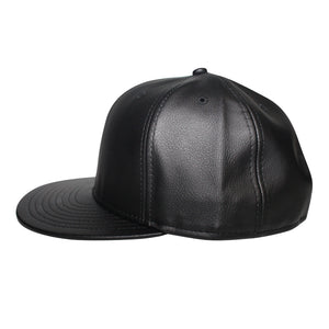 Origins - The Cap Guys TCG / Inspired Exclusives Black PU Leather Snapback Cap