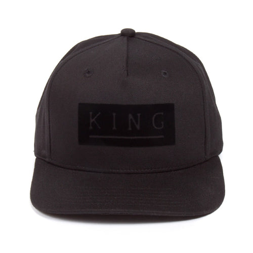 King Apparel Manor Black Snapback Hat