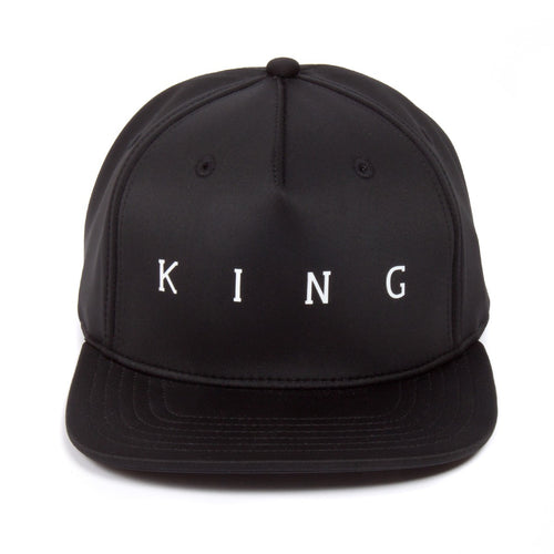 King Apparel Plaistow Black Snapback Hat