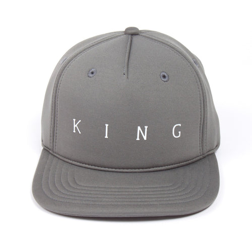 King Apparel Plaistow Grey Stone Snapback Hat
