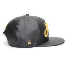 Load image into Gallery viewer, Hustle - T.O. - The Cap Guys TCG / Inspired Exclusives Gold and Black Snapback Cap