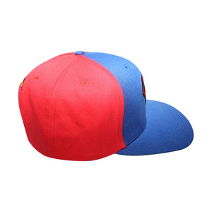 Concept One Red/Blue Licensed Superman Classic Logo Snapback Hat