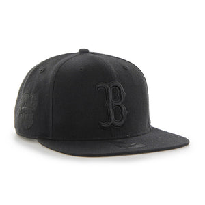 47 Brand Black Boston Red Sox Sure Shot 47 Captain Cap