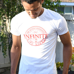 Infinite Life Brand Short-Sleeve Male T-Shirt