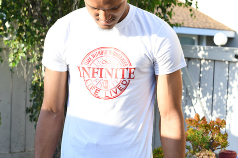 Infinite Life Brand Short-Sleeve Male T-Shirt-Infinite Life Lived | Intelligent Wear