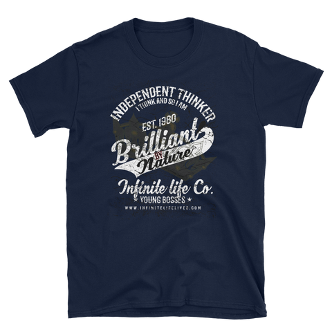 Brilliant By Nature StreetWear T-Shirt-Infinite Life Lived | Intelligent Wear