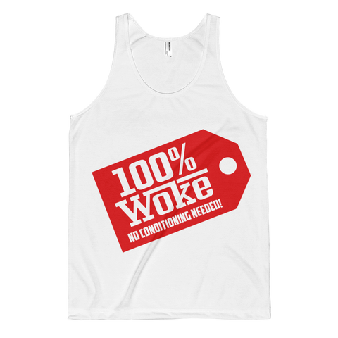 100% Women's Woke tank top