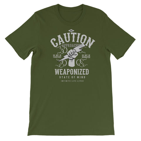 Weaponized Knowledge Short-Sleeve Unisex T-Shirt