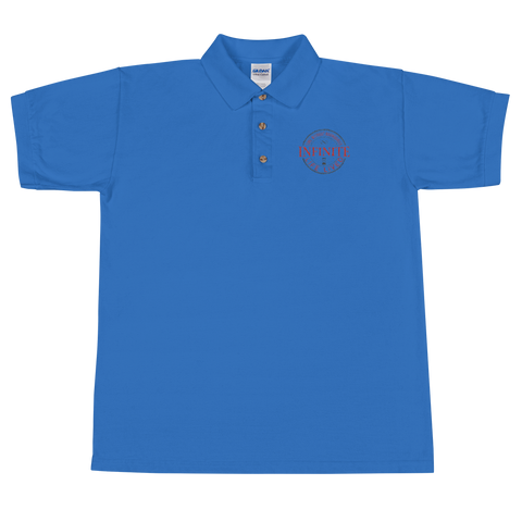 Embroidered infinite Life Lgo Polo Shirt