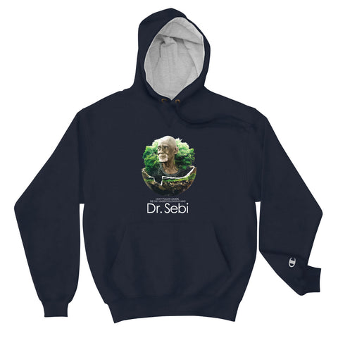 Dr. Sebi Organic Living Hoodie-Infinite Life Lived | Intelligent Wear