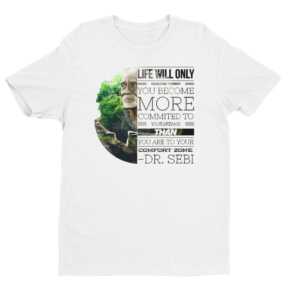 Dr. Sebi Life Short Sleeve T-shirt