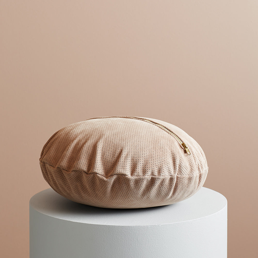 Knox Suede Cushion Clay