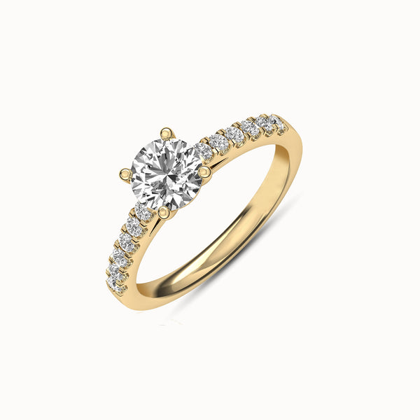 NENF12R27 - Classic French Pave (1/4 ct. tw)