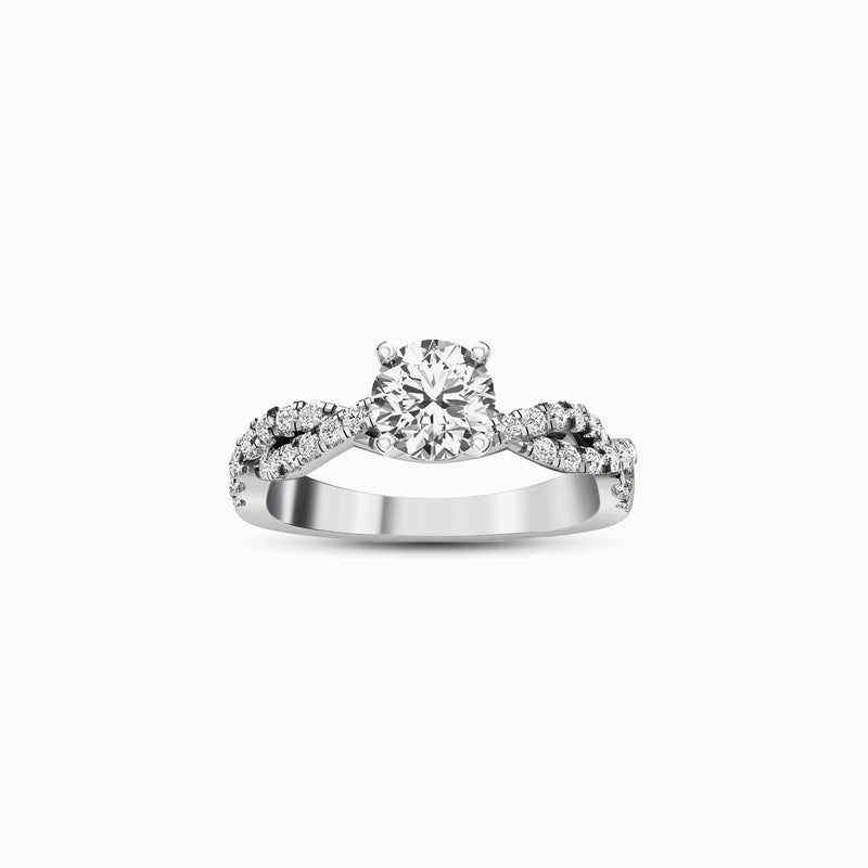 NENF34R40 - Twisted Pave (2/5 ct. tw)