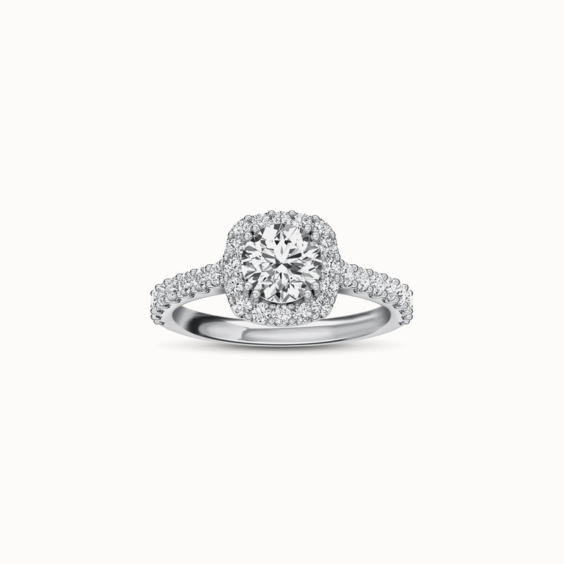 NENH32R67 - Halo Shared Prong (5/8 ct. tw)