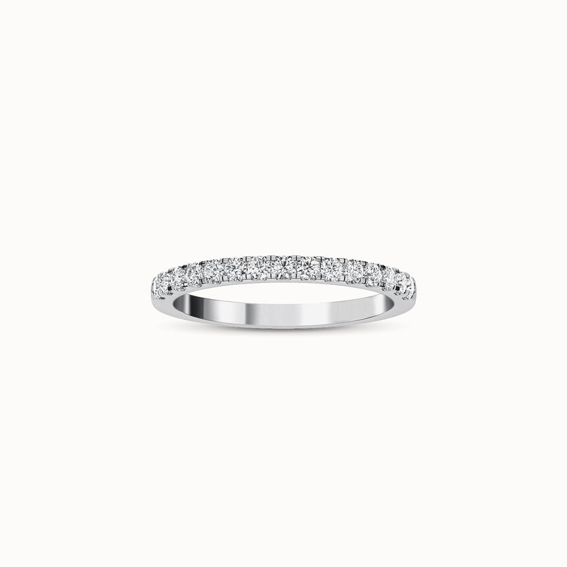NWBF15R27 - Classic French Pave (1/4 ct. tw)
