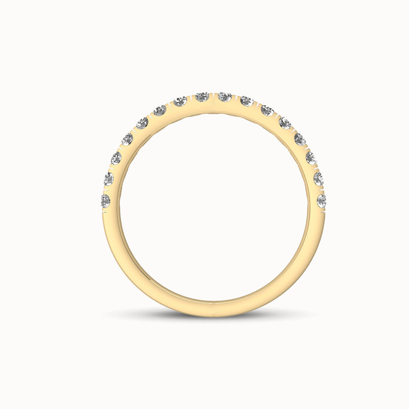 NWBF16R43 - Classic French Pave (1/4 ct. tw)