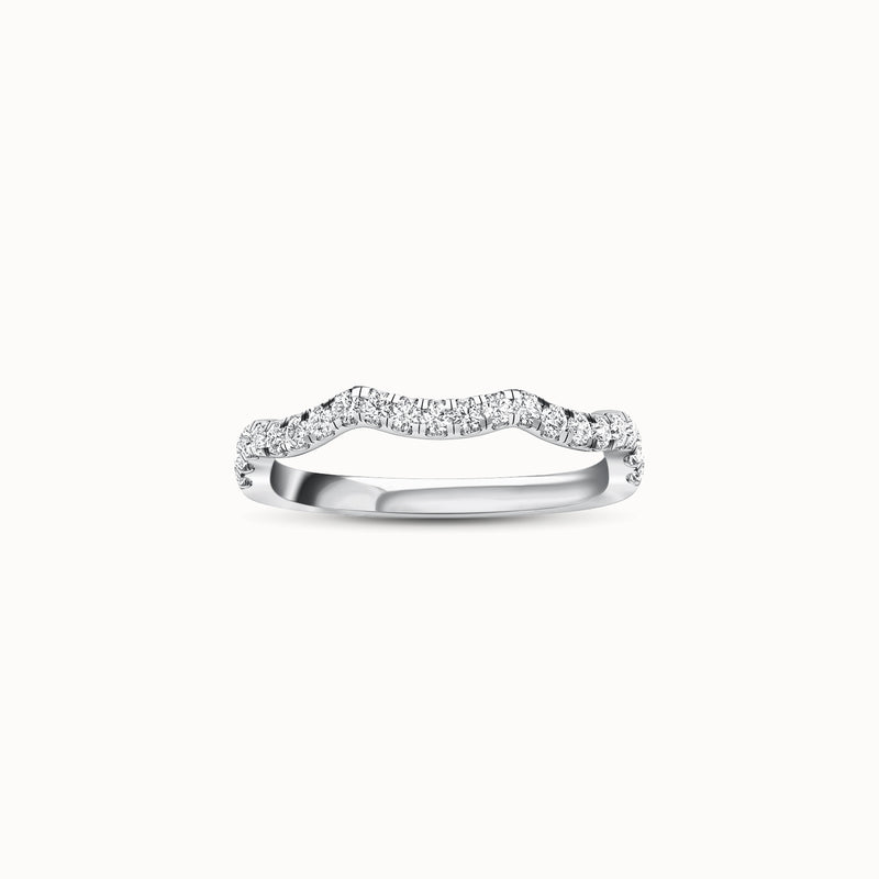 NWBF21R32 - Waved French Pave (1/3 ct. tw)