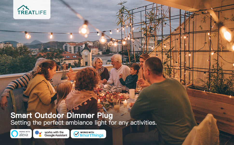smart plug for outdoor party and gathering
