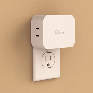 Treatlife Dimmable Smart Plug for Lamps, Works with Alexa, Google Assistant and SmartThings, Sunrise Simulation