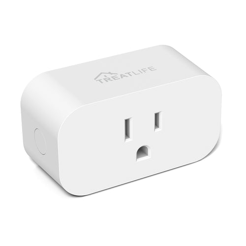 Smart Plug, Treatlife 1800W 15A Heavy Duty Programmable Timer, Wifi Smart Outlet Timer with Child Lock and Vacation Mode, Reliable WiFi Connection, Works with Alexa and Google Assistant