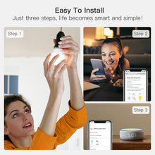 Load image into Gallery viewer, TreatLife Smart Tunable White Bulb,1500k-9000k,Work with Alexa,Google Assistant,8W 850Lumens
